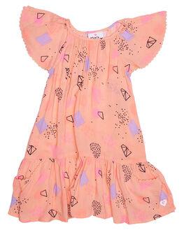 GALAXY PRINT KIDS TODDLER GIRLS EVES SISTER DRESSES - 8000001PRNT