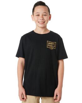 BLACK KIDS BOYS RUSTY TOPS - TTB0636BLK