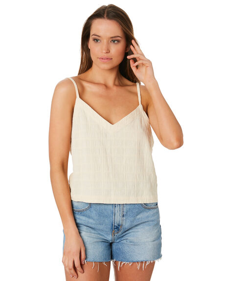 VANILLA OUTLET WOMENS RHYTHM FASHION TOPS - OCT19W-WT09VAN