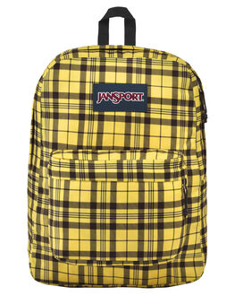 THROWBACK PLAID WOMENS ACCESSORIES JANSPORT BAGS + BACKPACKS - JST501JS6G7TPLD