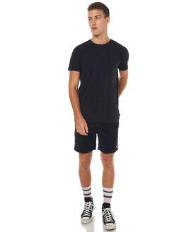 BLACK MENS CLOTHING STUSSY SHORTS - ST072621BLK