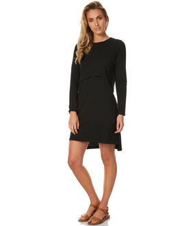 BLACK WOMENS CLOTHING SILENT THEORY DRESSES - 6008009BLK