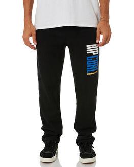 BLACK MENS CLOTHING RIP CURL PANTS - CPAEK10090
