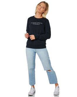 MIDNIGHT NAVY WOMENS CLOTHING ELWOOD JUMPERS - W912121LU