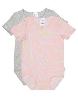 OHANA ISLAND PINK KIDS BABY BONDS CLOTHING - BXXUAOHANA
