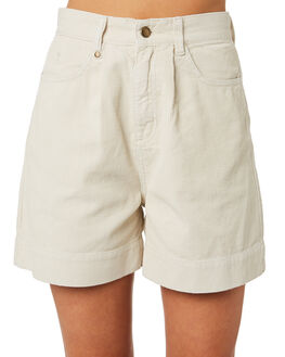 DIRTY WHITE WOMENS CLOTHING THRILLS SHORTS - WTR9-350ADRTWT