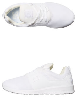 WHITE WHITE MENS FOOTWEAR DC SHOES SNEAKERS - ADYS700071WW0