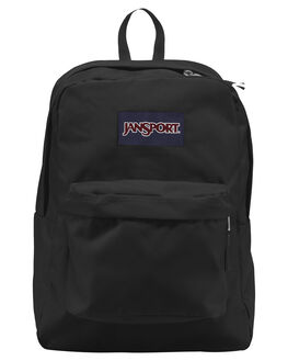 BLACK MENS ACCESSORIES JANSPORT BAGS + BACKPACKS - JST501_JS008BLK