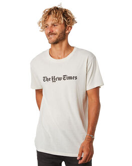 DIRTY WHITE MENS CLOTHING THE CRITICAL SLIDE SOCIETY TEES - TE18119DTWHT