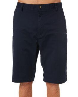 DARK NAVY MENS CLOTHING VOLCOM SHORTS - A09117V3DNVY