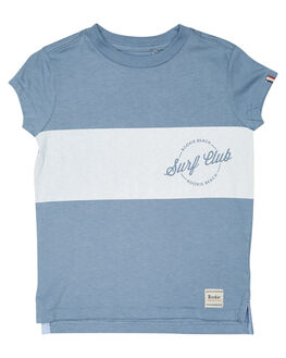 BLUE COMBO KIDS BOYS ROOKIE BY THE ACADEMY BRAND TOPS - R19S435