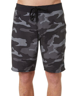 CHARCOAL BLACK MENS CLOTHING RVCA BOARDSHORTS - R393410CHABK