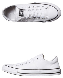 WHITE WOMENS FOOTWEAR CONVERSE SNEAKERS - 557971WHT