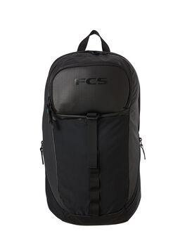 BLACK MENS ACCESSORIES FCS BAGS + BACKPACKS - STKE-BLK-027BLK