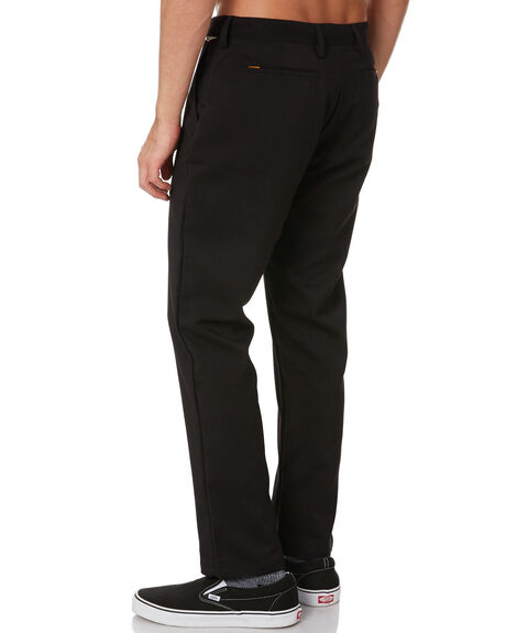 BLACK MENS CLOTHING THE CRITICAL SLIDE SOCIETY PANTS - PT2002BLK