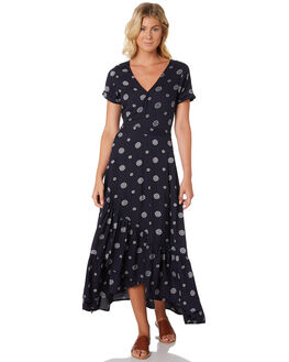 EBONY SPOT WOMENS CLOTHING O'NEILL DRESSES - 5321606EBS