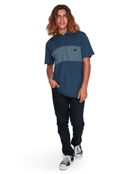 DARK INDIGO MENS CLOTHING BILLABONG SHIRTS - BB-9507140-D08
