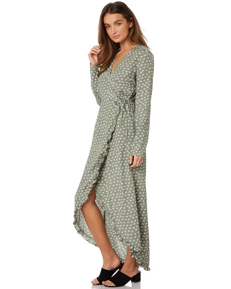 SAGE W IVORY FLORAL WOMENS CLOTHING THE FIFTH LABEL DRESSES - 40190531-4SAGE