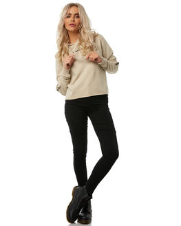 TAN WOMENS CLOTHING THRILLS JUMPERS - WTH8-205CTAN