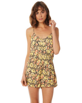TUSCAN OUTLET WOMENS AFENDS PLAYSUITS + OVERALLS - W183853-TSC