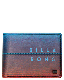 NAVY ORANGE MENS ACCESSORIES BILLABONG WALLETS - 9695196ANVYOR