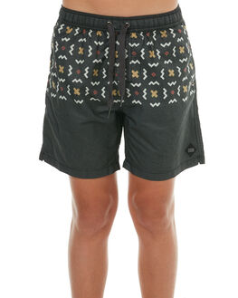CHARCOAL KIDS BOYS SWELL BOARDSHORTS - S3183231CHAR