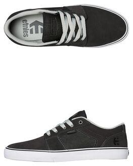 DARK GREY MENS FOOTWEAR ETNIES SKATE SHOES - 4101000351021