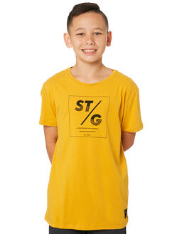 ORANGE KIDS BOYS ST GOLIATH TOPS - 2421000ORNG