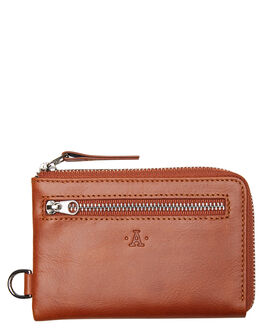 TAN MENS ACCESSORIES ATLAS LIFESTYLE CO WALLETS - ATL-W03TAN
