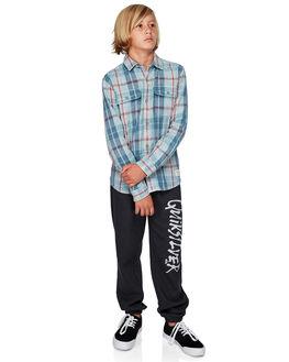 SKY GRAY TANG KIDS BOYS QUIKSILVER TOPS - EQBWT03246-BEY1