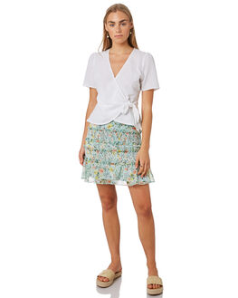 SUNNY FLORAL WOMENS CLOTHING THE EAST ORDER SKIRTS - EO180933SK-F_SNYFL