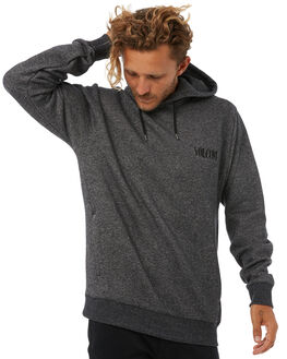 BLACK MENS CLOTHING VOLCOM JUMPERS - A4131708BLK