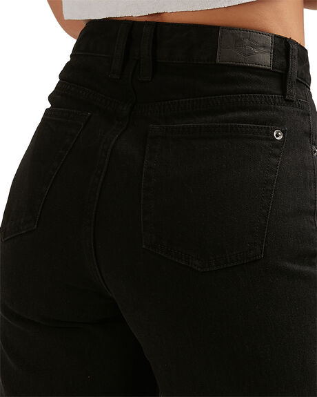 VINTAGE BLAC WOMENS CLOTHING RVCA JEANS - RV-R406222-VBC