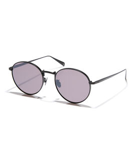 MATTE BLACK WOMENS ACCESSORIES OSCAR AND FRANK SUNGLASSES - 019MTBLK