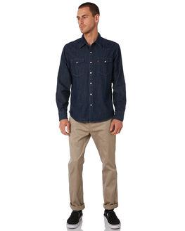 RED CAST RINSE MENS CLOTHING LEVI'S SHIRTS - 65816-0115RCR