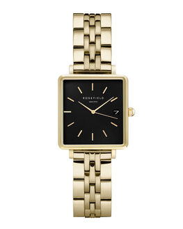 BLACK GOLD WOMENS ACCESSORIES ROSEFIELD WATCHES - QMBG-Q025BLKG