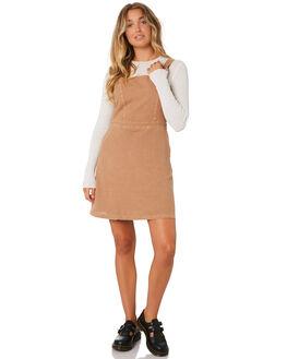 TOBACCO WOMENS CLOTHING THRILLS DRESSES - WTA9-909JTOB