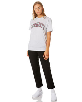 ASH HEATHER WOMENS CLOTHING CARHARTT TEES - I02645148200