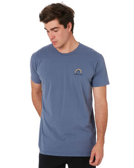 BLUE MENS CLOTHING ALOHA ZEN TEES - AZ472BLU