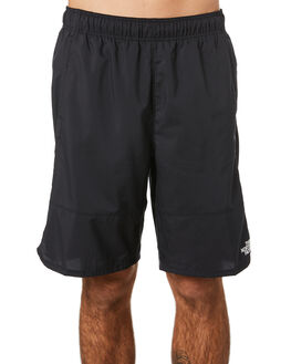 TNF BLACK MENS CLOTHING THE NORTH FACE SHORTS - NF0A48URTBLK