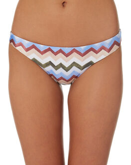 LAYLA ZIGZAG WOMENS SWIMWEAR NINE ISLANDS BIKINI BOTTOMS - M8184337LAYZG