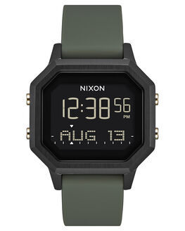 BLACK FATIGUE MENS ACCESSORIES NIXON WATCHES - A1211178-00