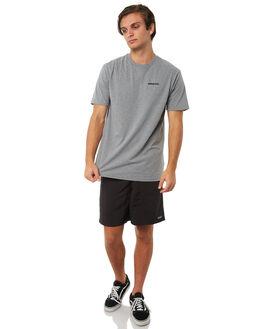 GRAVEL HEATHER MENS CLOTHING PATAGONIA TEES - 39174GLH