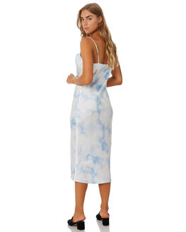 BLUE TIE DYE WOMENS CLOTHING THE FIFTH LABEL DRESSES - 402001132-7BTD
