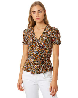 EARTH WOMENS CLOTHING THE HIDDEN WAY FASHION TOPS - H8201004EARTH