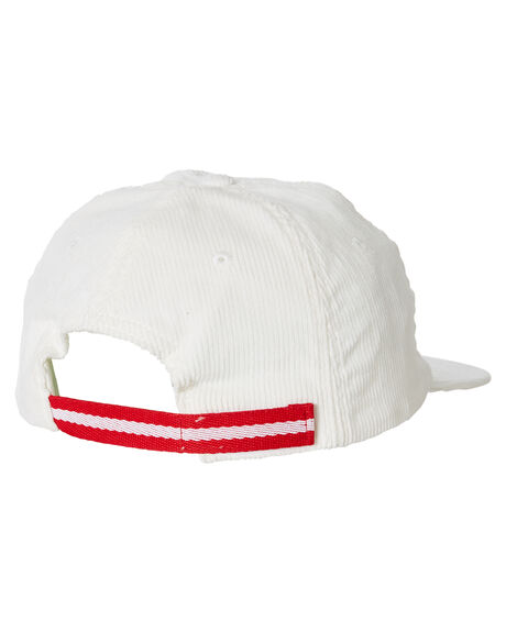 VINTAGE WHITE RED MENS ACCESSORIES VOLLEY HEADWEAR - VAL00572X