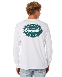 WHITE MENS CLOTHING DEPACTUS TEES - D5202102WHITE