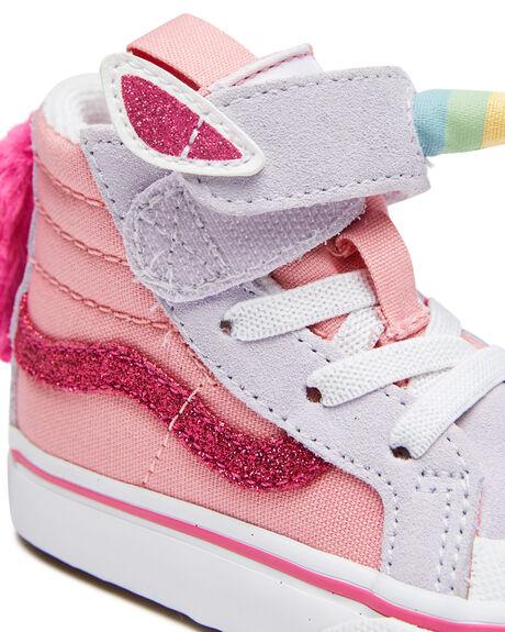 PINK KIDS GIRLS VANS FOOTWEAR - VN0A4TZQWLIPNK