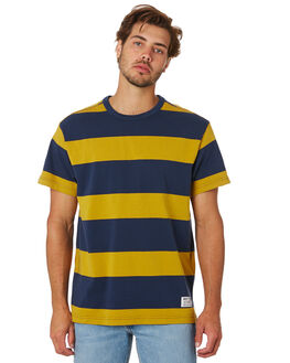 GOLD DRESS BLUE MENS CLOTHING LEVI'S TEES - 69855-0005GLDBL