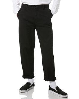 BLACK MENS CLOTHING DR DENIM PANTS - 1910123-101